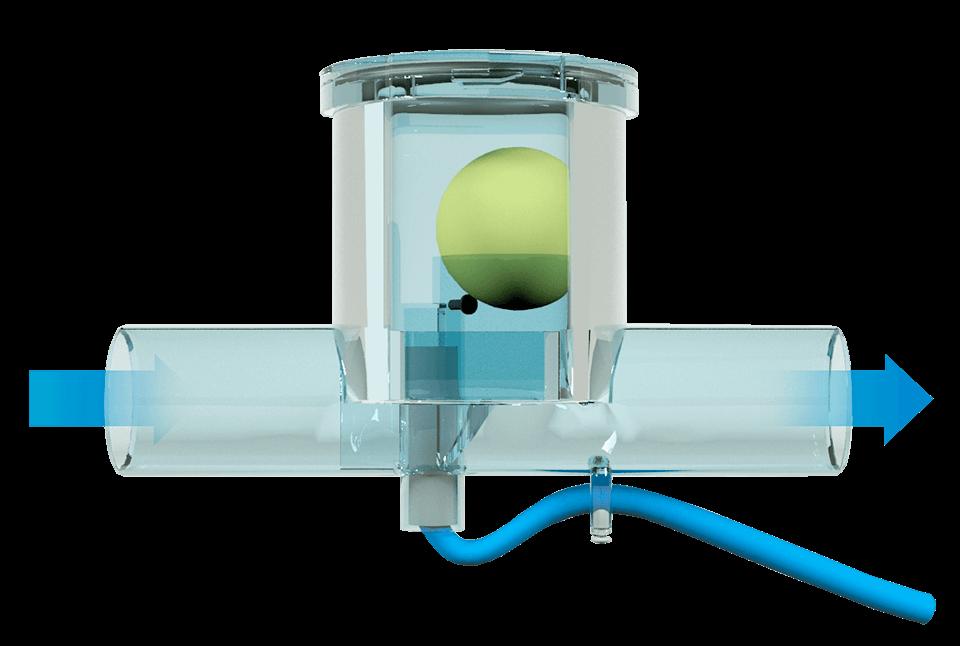 Ball-siphone